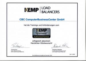 Kemp Zertifizierung