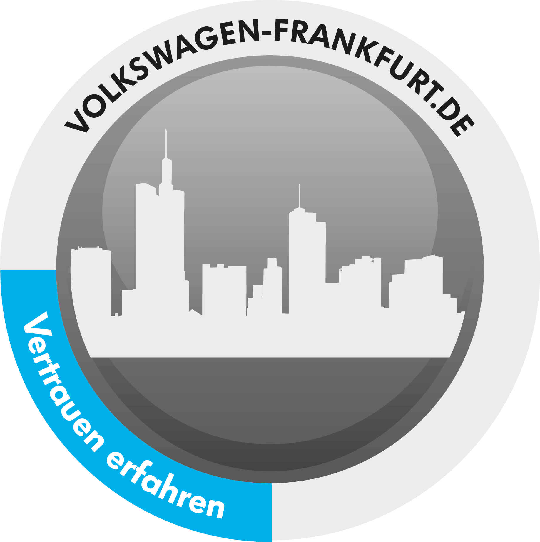 VW-Automobile-Frankfurt-Identitäts-Logo