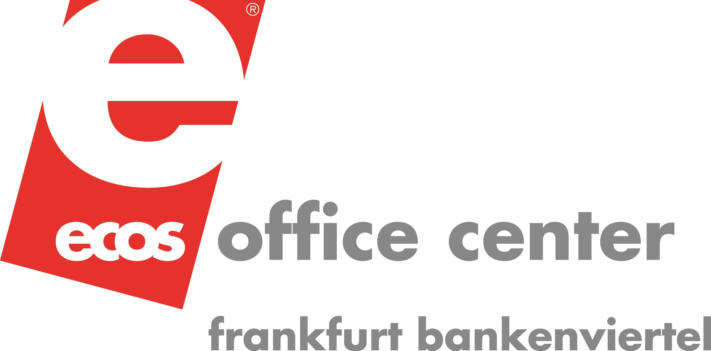 ecos Logo Frankfurt Bankenviertel CMYK